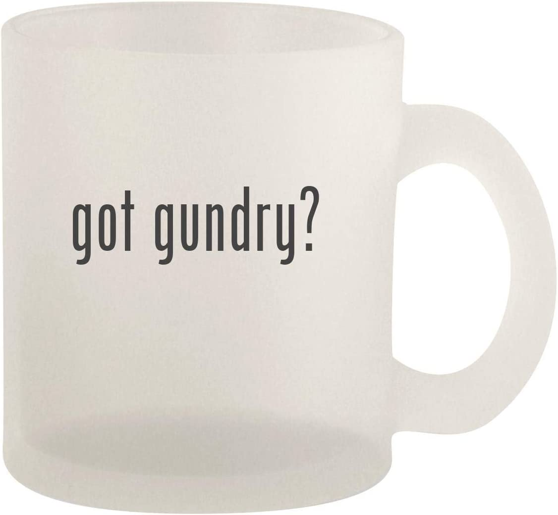 got gundry? - Glass 10oz Frosted Coffee Mug