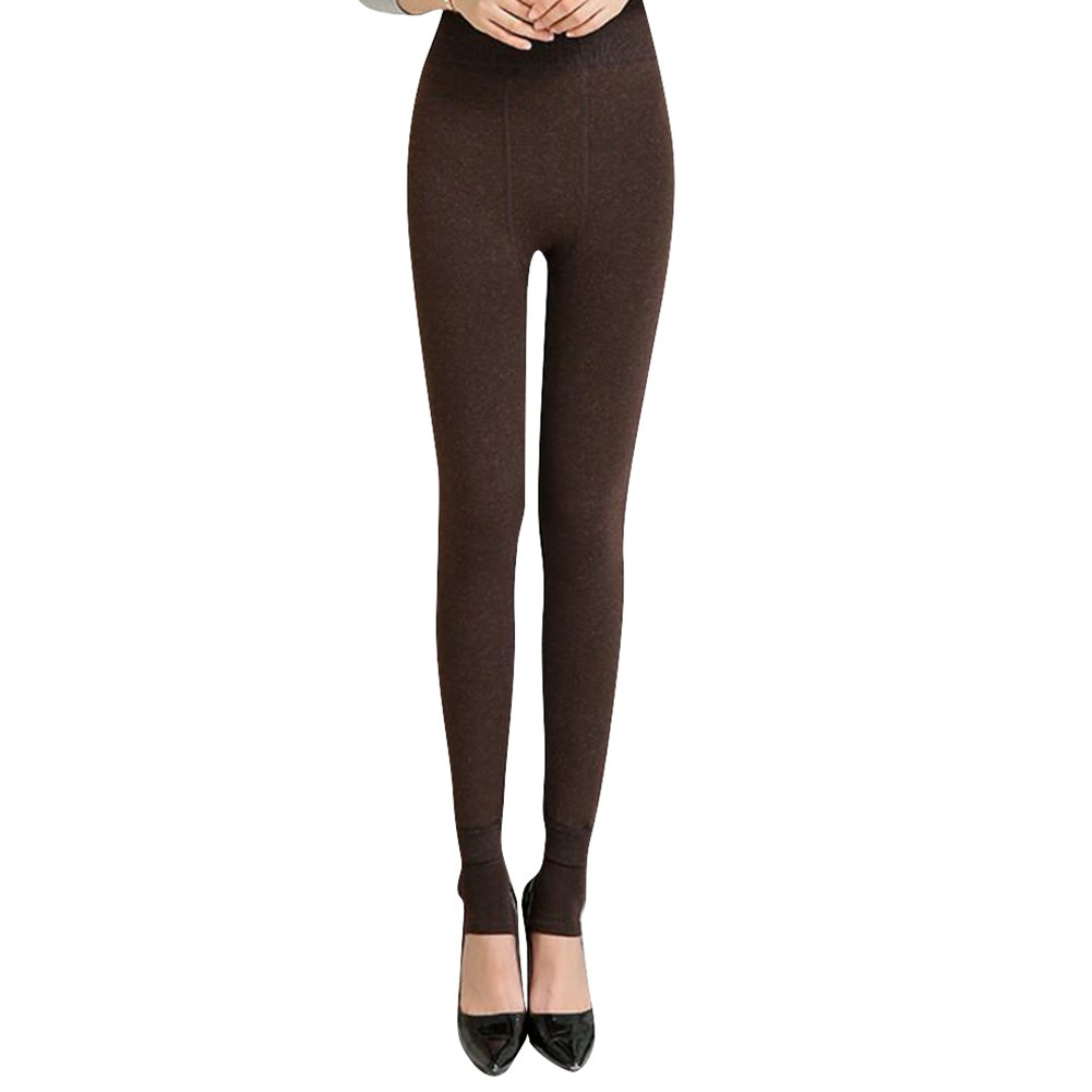 Highdas Autumn Winter Full Length Seamless High elastic thicken lady's Leggings warm pants skinny pants