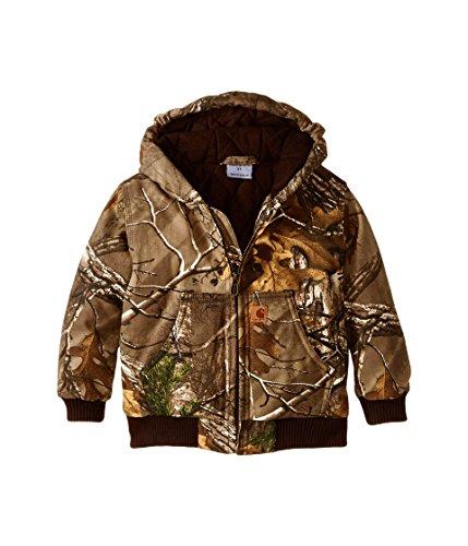 Carhartt Little Boys' Camo Active Jacket, Realtree Xtra, ()