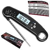 Best Instant Read Fork Digital Meat Thermometers - Digital Meat Thermometer for Grilling, IP67 Waterproof Kitchen Review