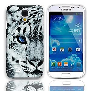 ZL Tiger Pattern Hard Case with 3-Pack Screen Protectors for Samsung Galaxy S4 mini I9190