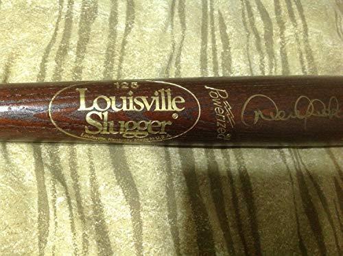 Rare Derek Jeter Autographed Signed Memorabilia Brown Game Model P72 Bat Vintage Autographed Signed Memorabilia JSA