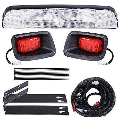 AW Golf Cart LED Light Kit ABS Plastic Compatible with EZGO TXT Golf Carts Outdoor Sport Light (Abs Flashlight Plastic)