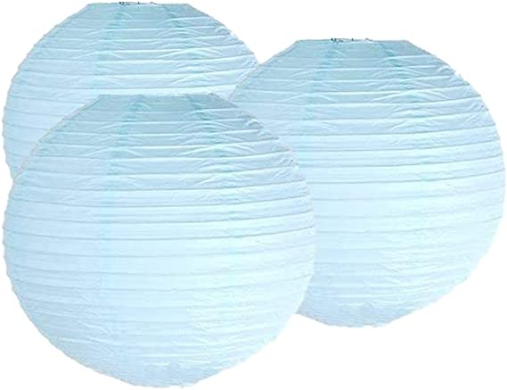 45CM Pack of 3 Paper Lantern Wedding Party Decoration Craft Lamp Shade Ivory Matissa 18