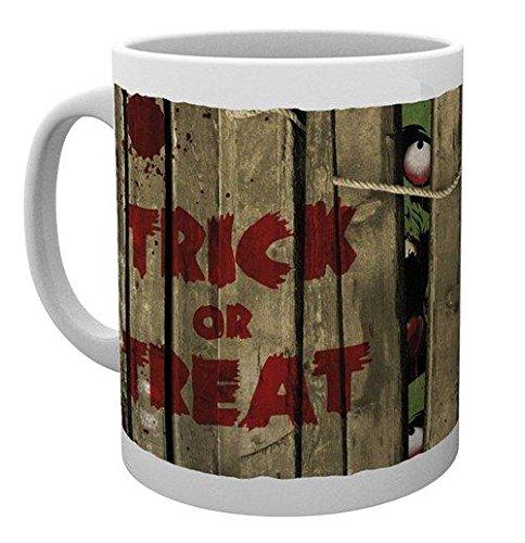 GB eye Halloween, Trick or Treat, Mug -