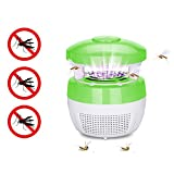 Portable Electronic Mosquito Killer Lamp,niceEshop USB Smart Optically Controlled LED Mosquito Insect Bug Pest Fly Inhaler Trap Safety Killer Zapper Photocatalyst Lamp for Home Office Camping