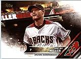 2016 Topps Update #US109 Shelby Miller Arizona Diamondbacks Baseball Card in Protective Screwdown Display Case