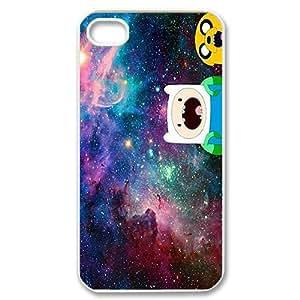 Custom Your Own Personalised Hard Amazed Nebula Adventure Time iPhone 4/4S Cover , Snap On Amazed Nebula Adventure Time iPhone 4/4S Case