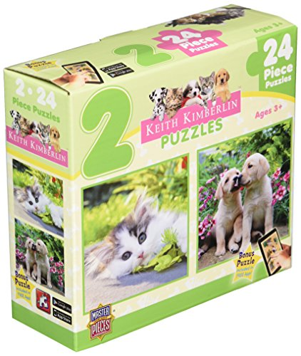 MasterPieces Cuddly Cute Jigsaw Puzzle, 2-Pack