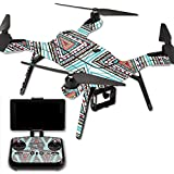 MightySkins Protective Vinyl Skin Decal for 3DR Solo Drone Quadcopter wrap cover sticker skins Aztec Pyramids