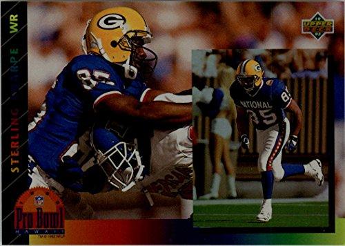Sterling Sharpe Green - 1993 Upper Deck Pro Bowl Sterling Sharpe Green Bay Packers #PB11