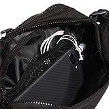 adidas Amplifier Crossbody Bag, Black/White, One Size