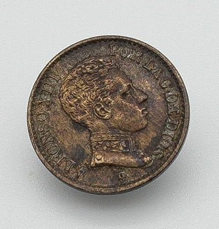 Desconocido Moneda de 1 Centimo del Año 1906 de Alfonso XIII ...