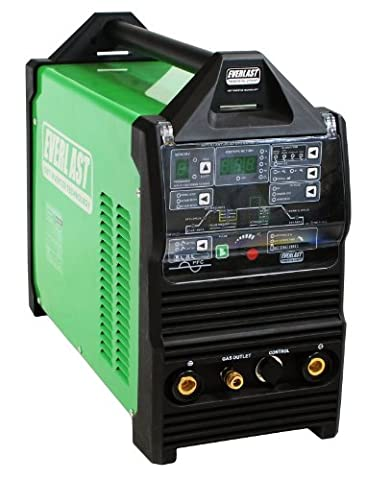 2015 Everlast PowerTig 255EXT DIGITAL AC DC TIG STICK Pulse welder 220 Volt Inverter-Based AC DC (Everlast 250ex Tig Welder)