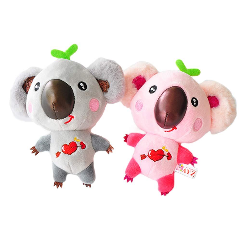 Softmusic - Llavero de algodón con diseño de Koala para ...