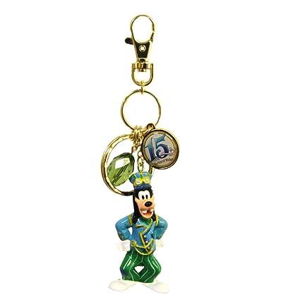 Disney Mar 15 aniversario de la correa clave llavero anillo ...