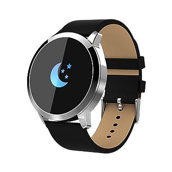 webla reloj inteligente T pantalla color Q8 Tensiómetro/oxígeno ...
