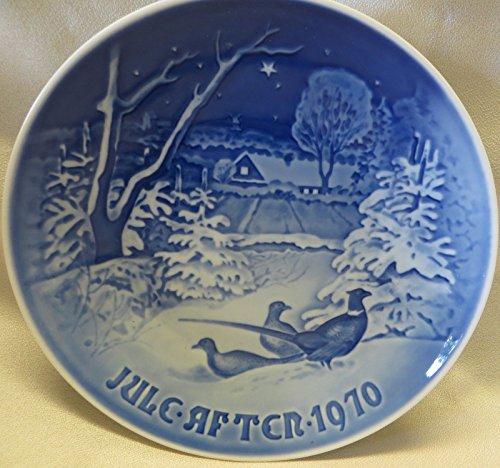 Royal Copenhagen B&G Christmas Plate 1970