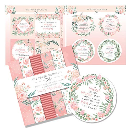 The Paper Boutique Misty Mornings Paper Kit