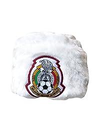 GORRUSO BLANCO OFICIAL DE LA SELECCIÓN NACIONAL DE MÉXICO (Blanco sin orejeras)