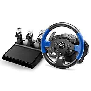 Thrustmaster T150RS PRO - Volante - PS4/PS3/PC - Force Feedback - 3 pedales - Licencia Oficial Playstation