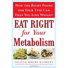 Eat Right for Your Metabolism: The Individualized Diet Plan to Balance Body Chemistry, Lose Weight, and Prevent Disease