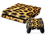 Vinyl Decal Skin Cover/stickers Wrap for Sony Ps4 Play Station 4 Console+2 Controllers-leopard Cheetah Animal