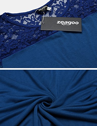 Azul Zeagoo Para Camisas Azul Mujer Mujer Para Zeagoo Camisas Para Camisas Zeagoo g4fPwqOp