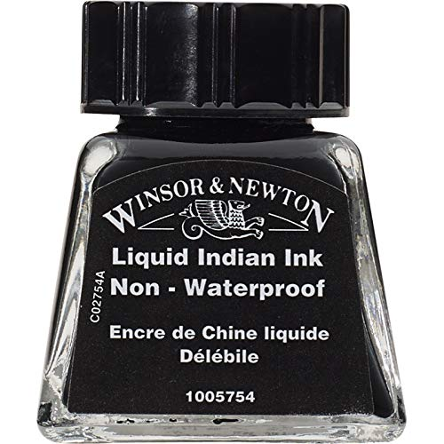 Winsor & Newton Drawing Ink Bottle, 14ml, Liquid Indian ()