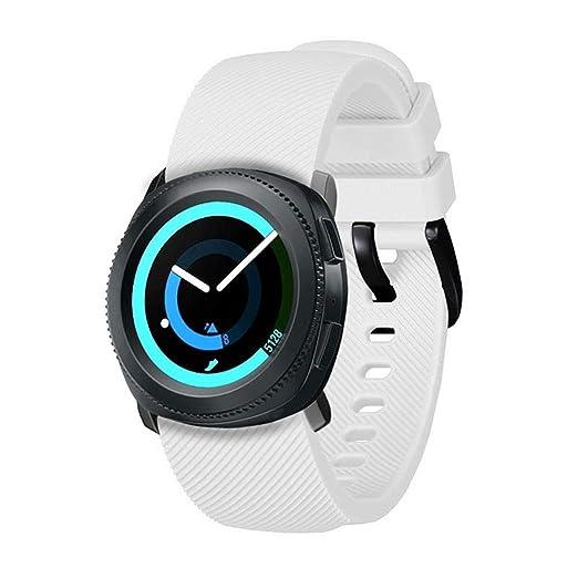 AOLVO - Correa de Reloj Compatible con Samsung Gear Sport, Correa ...