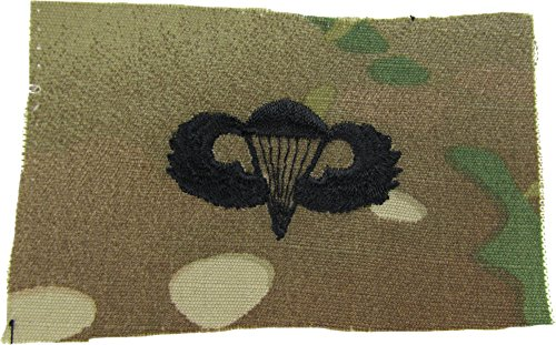 Parachutist Qualification Badge (Jump Wings) - Multicam SEW-ON (Basic) (Wings Parachutist)