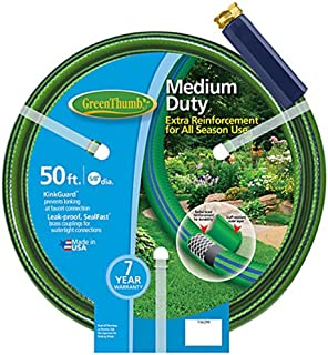 product image for TEKNOR-APEX COMPANY 156 299 Thumb Nylon Garden Hose, 5/8-Inch by 50-Feet, Green
