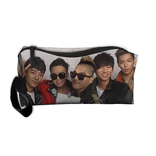 Hogan Star Airlines (Dnieospla Unisex Big-Bang-Dave-Hogan MTV Star Print Portable Washable Travel Wristlets Bag Fashion Portable Makeup Pouch,Cosmetic Bag With Zipper Closure Waterproo)