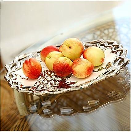 LGK&FA La Ceramica argento piatto di frutta Cesto di frutta ...