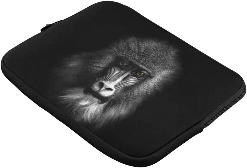 Unique Custom Baboon Monkeys and Colorful Faces and Buttocks Print Womens Briefcase Bag Soft Laptop Briefcase Bag Briefcase Protective for MacBook Air 11