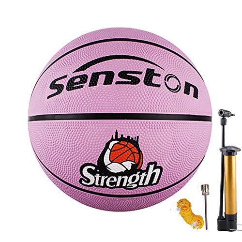 - Senston Kids Junior Basketball Balls Size 5 Basketballs Outdoor/Indoor Game Basket Ball J503 with Pump, Needles, Basketball Net