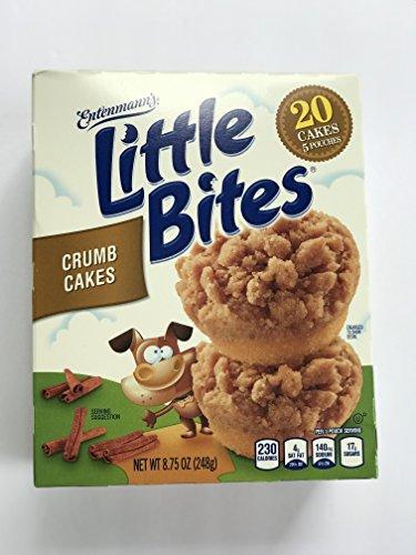 Entenmann's Little Bites Crumb Cakes (20 Cakes 5 Pouches) Net WT 8.25 oz (234g) ()