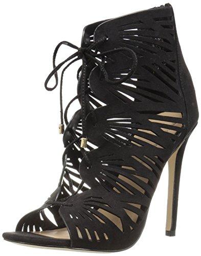 Aldo Women's Lassie Heeled Sandal, Black, 7 B US
