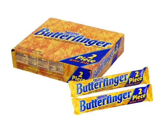 Butterfinger King Size 2pcs Bar 18ct of 3.7 Oz. Tj18