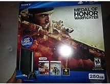 PS3 Slim 250GB Medal of Honor Warfighter Bundle PlayStation 3