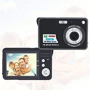 AmYin Mini Digital Camera 18 Megapixel with 2.7'' LCD Display (Black)