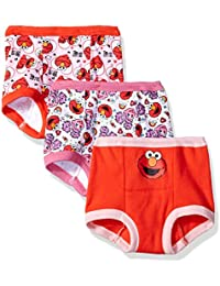 Girls' Elmo Girl 3 Pack Training Pant