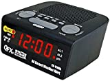 QFX CR-91NOA All Hazard Weather Alert Clock Radio AM/FM