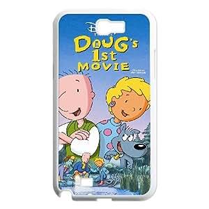Doug's 1st Movie Samsung Galaxy N2 7100 Cell Phone Case White hvbe