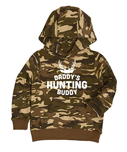 Toddler Daddy's Hunting Buddy Camo Pullover Sweatshirt Photo #1