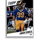 2018 Prestige NFL  185 Aaron Donald Los Angeles Rams Panini Football Card 3fb6441ad
