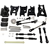 TRAXXAS SLASH 2WD ON BOARD AUDIO FRONT AND REAR ARMS - TURN BUCKLES - HINGE PINS AND SERVO SAVER