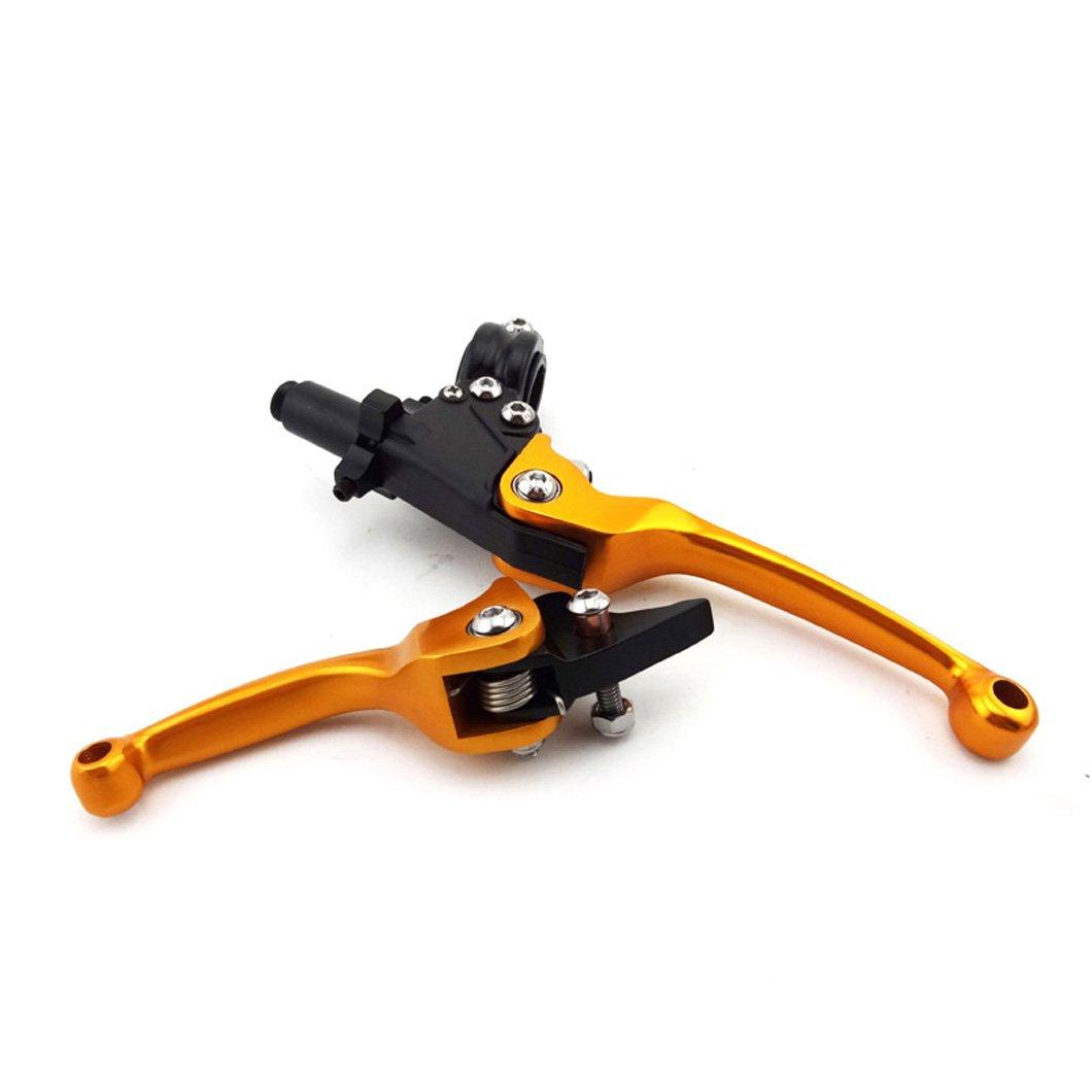 xlyze CNC leviers dembrayage de frein pour 50/cc 110/cc 125/cc 140/cc 150/cc cRF XR KLX TTR SSR SDG YCF Pit Dirt Bike bleu