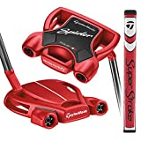 TaylorMade Golf Spider Tour Red #3 Small Slant 35 IN Putter, Right Hand