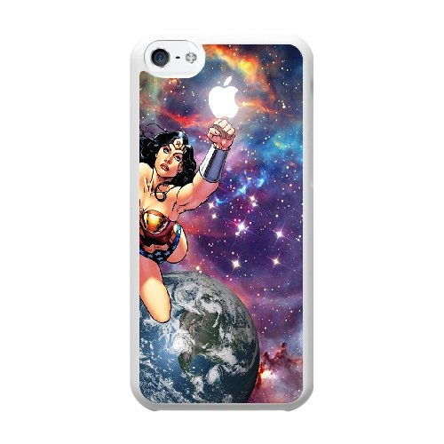 Coque,Coque iphone 5C Case Coque, God And His Son Cover For Coque iphone 5C Cell Phone Case Cover blanc